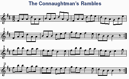 The Connachtman's Rambles